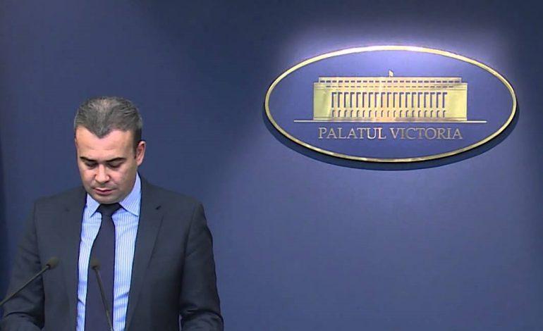 Darius Vâlcov a fost numit consilier de stat în aparatul de lucru al premierului Viorica Dăncilă