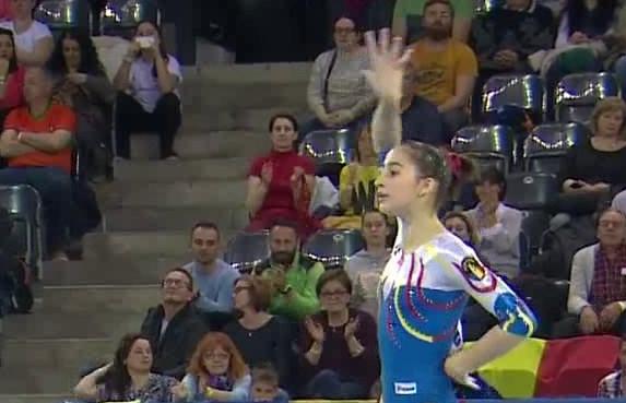 Gimnasta Olivia Cîmpian va concura pentru Ungaria