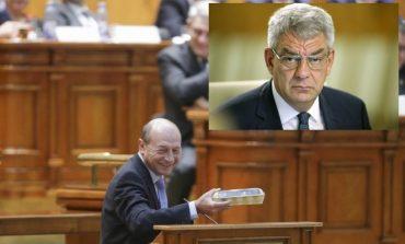 Surpriză în PSD: Traian Băsescu, lăudat de Mihai Tudose