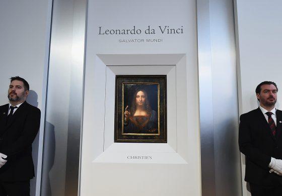 Tablou de Leonardo da Vinci, vândut la licitație cu prețul record de 450,3 milioane de dolari