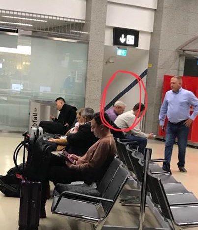 Dragnea, surpins și fotografiat pe aeroportul din Viena