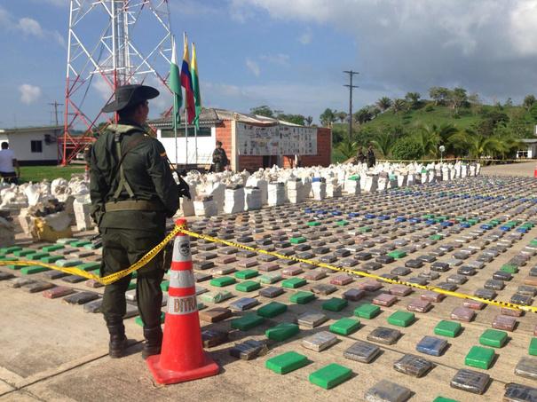 Captură record în Columbia: 12 tone de cocaină în valoare de 360 milioane dolari