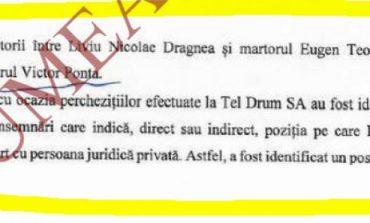 Document oficial DNA: Șova și Teodorovici l-au turnat pe Dragnea, Ponta l-a confirmat pe Teodorovici