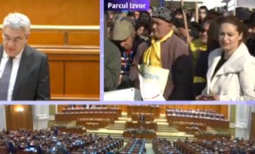 Hotnews LIVE text: Guvernul Tudose a supraviețuit moțiunii de cenzură. 159 voturi pentru față de 233 câte erau necesare