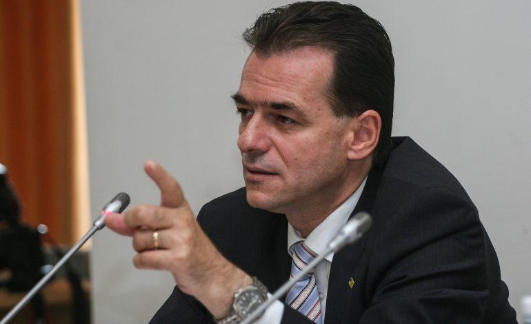 Ludovic Orban: Împotriva guvernului de habarniști condus de Terente, voi propune o moțiune de cenzură