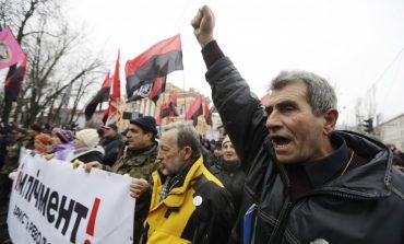 Ucraina: Mii de manifestanți la Kiev, în sprijinul lui Mihail Saakașvili