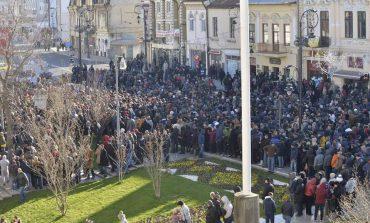 Eșec previzibil: La Craiova, PSD nu a reușit să adune prea mulți manifestanți