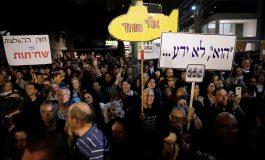 """Tel Aviv: Zeci de mii de manifestanți la """"Marșul Rușinii"""", un protest împotriva corupției"""