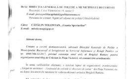 Tolo.ro: Poliția confirmă că Primaria nu i-a cerut aprobarea legală pentru târgul de Crăciun din Piața Victoriei