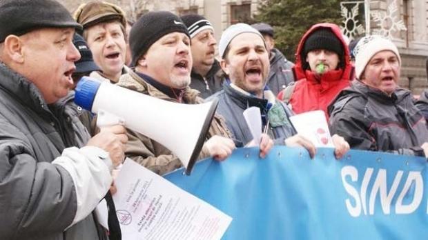 2.500 de sindicaliști contestă în stradă reforma fiscală a PSD