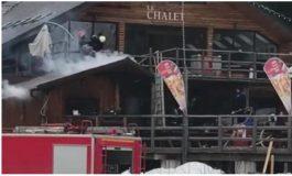 Incendiu la pensiunea din Azuga a familiei Adrian Năstase