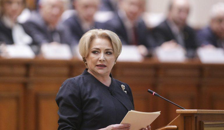 Guvernul Dăncilă a primit votul de încredere în Parlament și a depus jurământul la Palatul Cotroceni