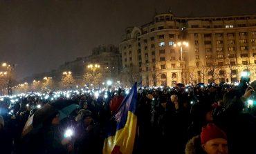 """Presa străină: Zeci de mii de români au spus """"nu corupției"""""""