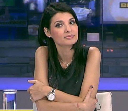 Lavinia Șandru a fost suspendată de la Realitatea Tv