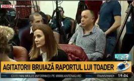 """Antena 3 i-a numit """"agitatori"""" și """"provocatori"""" pe jurnaliștii care i-au pus întrebări lui Tudorel Toader"""