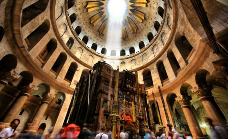 Biserica Sfântului Mormânt, din Ierusalim, a rămas închisă şi marţi, pentru a treia zi consecutiv