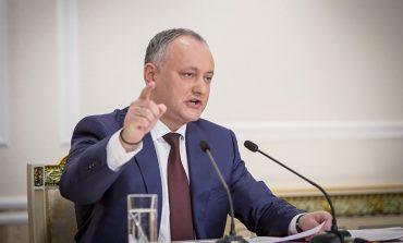 """Igor Dodon: În loc de """"Marea Adunare"""" a fost organizat un banal protest minoritar, cu lăutari şi discursuri ofilite"""