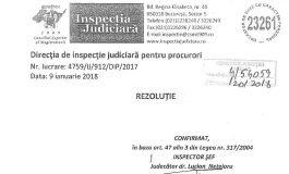 UPDATE Ministrul Justiției, în afara legii: A publicat documente cu caracter confidenţial ale Inspecţiei Judiciare. Reacția ministrului