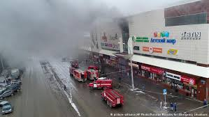 Incendiu devastator la un mall din Siberia: Cel puțin 64 de persoane au murit, din care peste 40 sunt copii