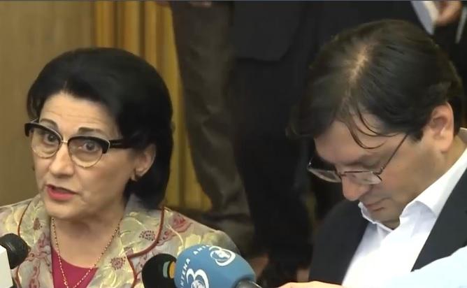 Nicolae Bănicioiu şi Ecaterina Andronescu au părăsit nemulțumiți Congresul PSD