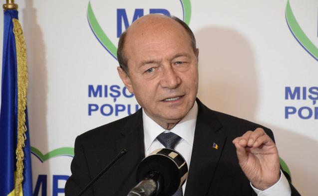 Traian Băsescu denunță fuziunea PMP cu UNPR: Această fuziune începe să devină toxică pentru partid