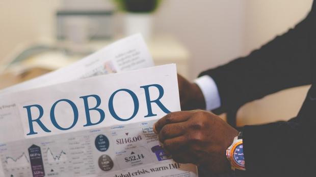 Indicele Robor la trei luni a crescut vineri la un nivel maxim de 3,09%
