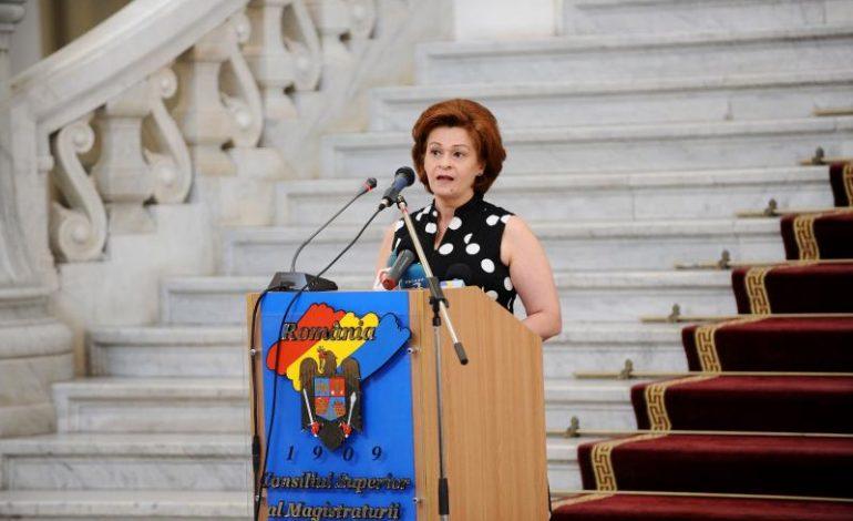 Președintele ÎCCJ, Cristina Tarcea, a sesizat Parchetul General în legătură cu protocolul SRI-PG-ÎCCJ