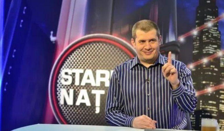 """TVR a decis scoaterea din program a emisiunii """"Starea nației"""" realizată de Dragoș Pătraru"""