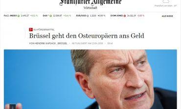 Frankfurter Allgemeine: România, printre cele patru țări vizate de condiționarea fondurilor UE de respectarea statului de drept