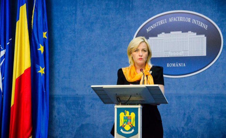 Plângere penală la DNA pe numele ministrului de Interne, Carmen Dan