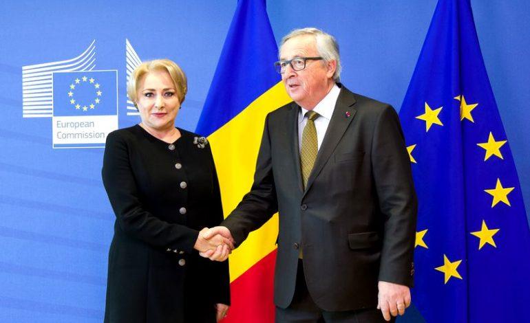 Răspunsul lui Juncker la scrisoarea Vioricăi Dăncilă: Veți observa că CE nu a cerut informații referitoare la conținutul dosarelor