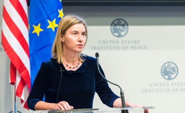 Federica Mogherini l-a asigurat pe ambasadorul palestinian pe lângă UE că niciun stat membru nu îşi va muta ambasada la Ierusalim