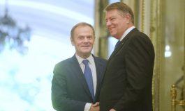 Cum comentează Klaus Iohannis posibilitatea de a prelua funcţia de preşedinte al Consiliului European