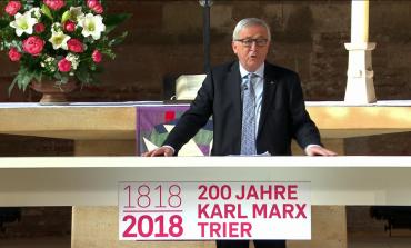 """Ghinea îl acuză pe Juncker că a participat la """"glorificarea"""" lui Karl Marx: Gafă de proporții. Mă aștept ca europarlamentarii români să protesteze"""