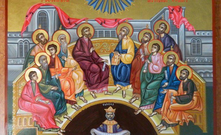 Creștinii ortodocşi sărbătoresc duminică şi luni Rusaliile sau Pogorârea Duhului Sfânt, una dintre cele mai vechi sărbători