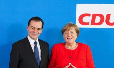 Preşedintele PNL Ludovic Orban s-a întâlnit cu cancelarul german Angela Merkel