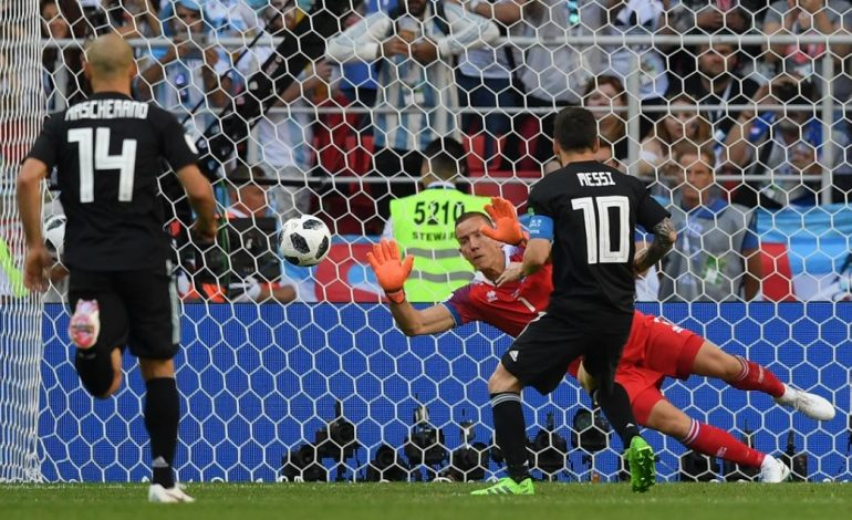 VIDEO Portarul Hannes Halldórsson, desemnat jucătorul meciului Argentina – Islanda