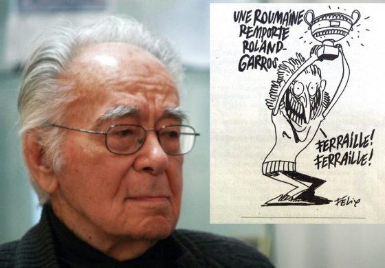 Mihai Șora, despre caricatura din Chrlie Hebdo: Desenul ironizează tocmai mințile înțepenite în stereotipuri etnice