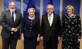 """Mesajul lui Juncker pentru Dăncilă: """"Reveniți la un discurs politic normal în România"""""""