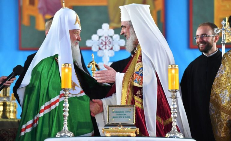 Surse Hotnews: Patriarhul Kiril a fost invitat fără consultarea preşedintelui şi premierului