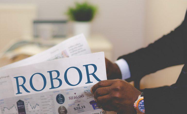 Indicele ROBOR la trei luni a crescut la 2,85% pe an