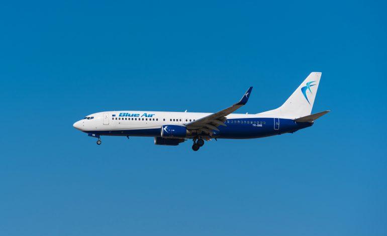 Aeronavă Blue Air, aterizare de urgență la Budapesta