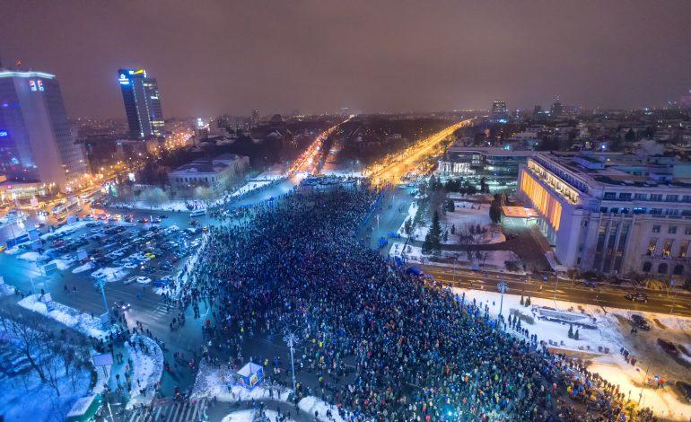 Zeci de mii de oameni au protestat, în București, în țară și în diaspora, în sprijinul Justiției
