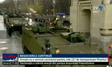 Armata nu a semnat contractul cu americanii de la General Dynamics pentru transportoarele Piranha