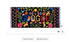 Logo Google dedicat Zilei Naționale a României
