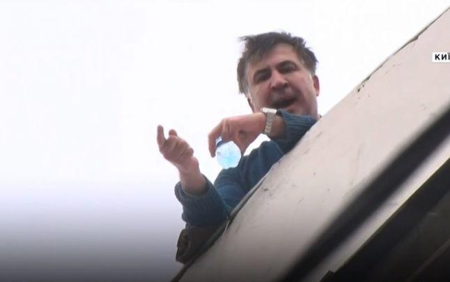Fostul președinte georgian Mihail Saakașvili, reținut la Kiev