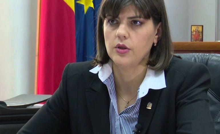 Laura Codruța Kovesi, la Euronews: Dacă aceste proiecte de lege intră în vigoare, nu mai putem combate eficient corupția