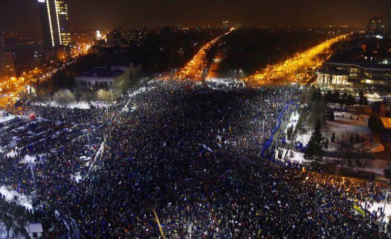 Protest antiguvernamental anunţat astăzi în Capitală şi în mai multe oraşe din ţară