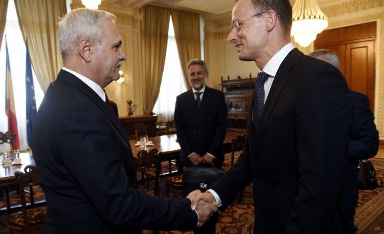 Promisiunile făcute de Liviu Dragnea ministrului ungar de externe