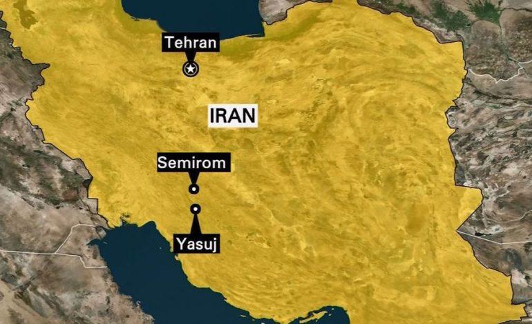 Un avion s-a prăbuşit în Iran. Toate cele 66 de persoane aflate la bord au murit